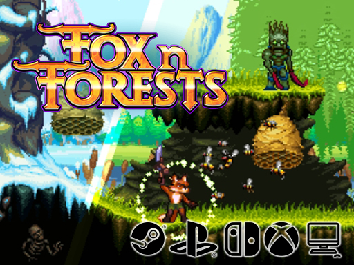 Promo Screenshot FOX n FORESTS Bonus Level Entertainment/EuroVideo Medien