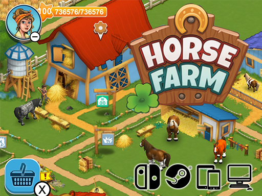 Promo Screenshot Horse Farm upjers GmbH